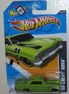 Hot Wheels ★ Muscle Mania GM ★ 66 Chevy Nova SS 502 ★ 2012