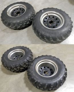 Kodiak 400 450 Grizzly Big Bear Bruin Front Rear Wheels Tires ATV ITP