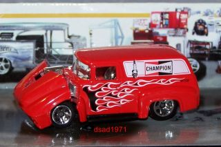 Hot Wheels 1956 Ford Panel Champion Spark Plugs Mint 1 64