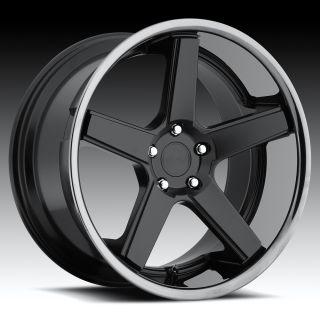 22 inch Niche Nurburg Black Wheels Rims 5x115 15 SRT8 Challenger 300C