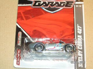 2011 Hot Wheels Garage 6 Shelby Cobra 427 Hotwheels