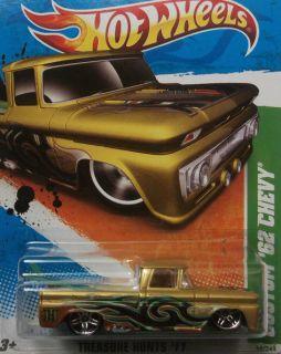2011 Hot Wheels Treasure Hunts 4 Custom 62 Chevy Card in Fair