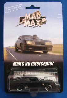 Max V8 Interceptor Custom Carded Ford Falcon XB Hot Wheels 9 10