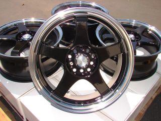 17x8 Effect Wheels Rims 5 lugs Sedona Sentry Is300 ES330 Gs400 Eclipse