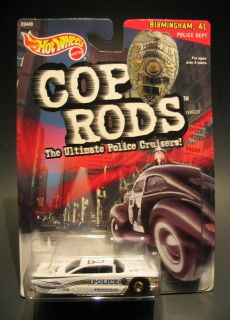 64 HOT WHEELS COP RODS 1959 Chevy Impala 59 Chevrolet Impala