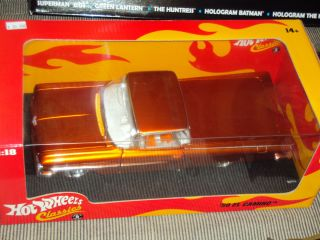 59 El Camino 1 18 Scale Die Cast MISB Hot Wheels Classics 2005 Mattel