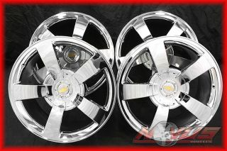 CHEVY SS SUPER SPORT TAHOE SILVERADO GMC YUKON SIERRA CHROME WHEELS 20
