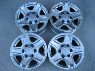 Toyota 4Runner Tacoma 16 Alloy Wheels Rims Center Caps Sequoia Tundra