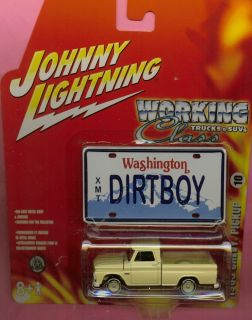 Johnny Lightning 65 Chevy Pickup Truck Stock Wheels w Dirtboy Plate