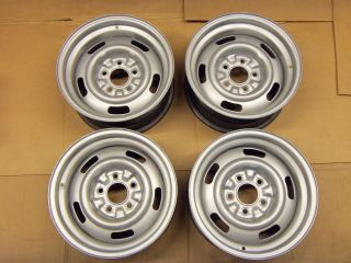 1968 Corvette AG 15x7 Rally Wheels 68 Ralley Rim Camaro 1967 1969 1970