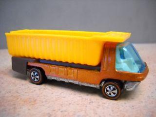 Original Hot Wheels Redline The Heavyweights w white interior Dump