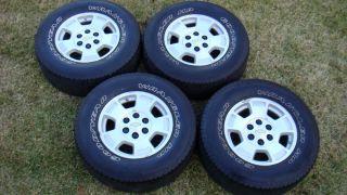 Silverado Avalanche Suburban Tahoe 17x7 5 Wheels Rims 265 70 17 Tires