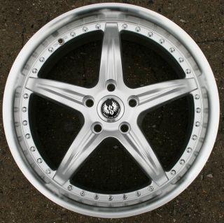 Stern de Elegance 19 H Silver Rims Wheels Volvo V70 99 Up 19 x 8 5 5H