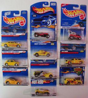 Assorted Car Mattel Hot Wheels 1 64 Die Cast Lot of 10 Vehicles Trucks