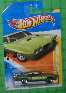 2011 Hot Wheels New Models 70 Pontiac GTO Judge 11