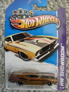 2013 Hot Wheels (Hidden Secret) SUPER TREASURE HUNT  73 FORD FALCON
