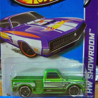 2013 Hot Wheels 69 Chevy P/U  ERROR  On A 70 Ford Torino Card