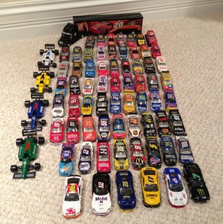 Diecast 1 64 Huge Lot 71 Cars Action Winners Circle Hot Wheels