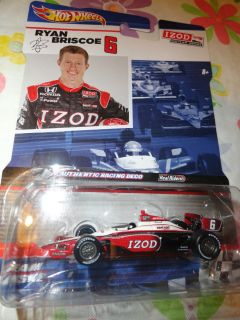Hot Wheels Indy Car Series Ryan Briscoe IZOD 1 64
