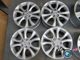Four 04 11 Mazda 3 Factory 17 Wheels OEM Rims Mazda 5 64929 9965467070