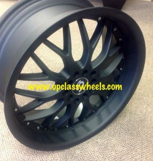 Matt Black 4 Lug Wheels Tiburon Civic Integra Accord Alloy Rims