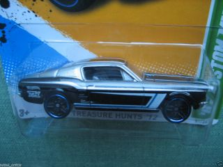 2012 Hot Wheels 67 Custom Mustang Treasure Hunt 7 15