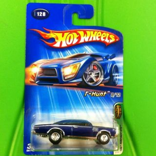 2005 Hot Wheels Treasure Hunt 67 Pontiac GTO Real Riders RARE