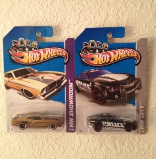 2013 Hot Wheels 10 Camaro SS and Super 73 Ford Falcon XB Treasure