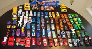 Lot 90 Hot Wheels Matchbox Maisto Mattel Some Vintage Cars Trucks