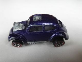 Hot Wheels Redline 1967 Purple Custom Volkswagen All Original