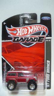 2012 Hot Wheels Garage 67 Ford Bronco Real Riders 5 20