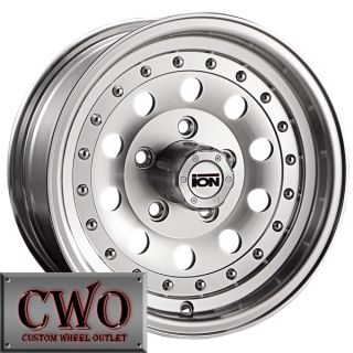 15 Machined ION 71 Wheels Rims 5x4 75 5 Lug Camaro GTO S 10 Blazer