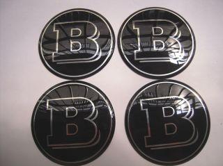 4X Mercedes Benz Wheel Center Caps 74mm Stickers Logo AMG CL CLK C E