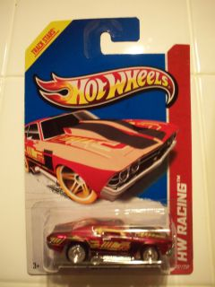 2013 Hot Wheels Custom 69 Chevelle Red Racing Diecast