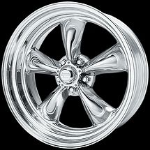 inch Torq Thrust II 15x8 POLISHED Rims Wheels 5x4 75 EARLY CHEVY 5 Lug