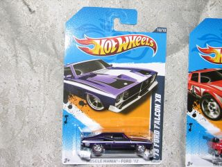 2012 Hot Wheels Secret Super Treasure T Hunt 1973 73 Ford Falcon XB 10
