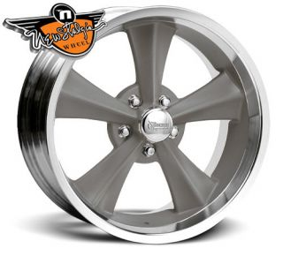 Rocket Racing Wheels Rocket Booster Gray 20x8 5 5x4 75 5 25
