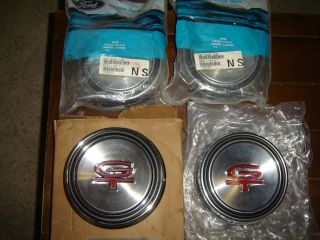 68 69 GT Wheel Center Caps Styled Steel Wheels Mustang Torino Fairlane