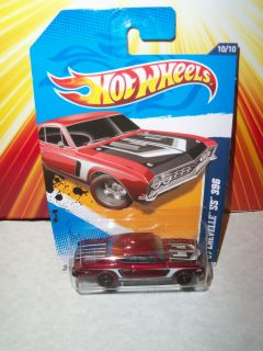 Hot Wheels 2012 Super Treasure Hunt 67 Chevelle SS 396 Grey Interior