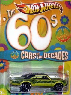 Hot Wheels Cars of The Decades ★ The 60s ★ 67 Pontiac GTO
