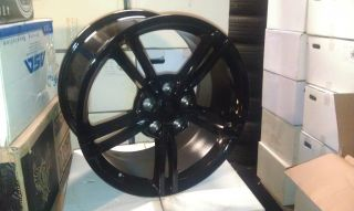 Replica Black 19x11 5x4 75 79mm Wheel Rim Corvette Blazer 4WD