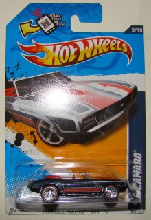 69 Camaro Hot Wheels 2012 Super Treasure Hunts Convertible 69 Camaro