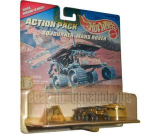 HOT WHEELS 1996 Action Pack JPL Sojourner Mars Rover MIP Mattel SEALED