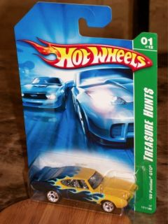 Super 2007 69 Pontiac GTO Hot Wheels 1 Treasure Hunt