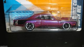 Hot Wheels 2012 RARE Error Tampo Variation 69 Dodge Coronet Super Bee