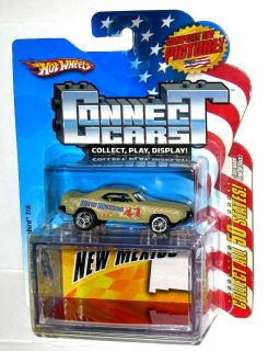 Hot Wheels Connect Cars New Mexico `69 Pontiac Custom Real Riders