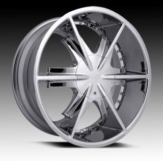 20 inch Strada Pistola Chrome Wheels Rims 5x4 75 GMC Sonoma Camaro