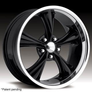 20 x8 5 Boss 338 3382 s F Black Wheels Rims 5 Lug