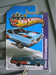 2013 Hot Wheels Super Treasure Hunt 72 Ford Gran Torino Sport