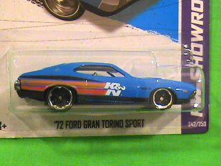 Hot Wheels 72 Ford Gran Torino Sport HW Showroom New Release HW
